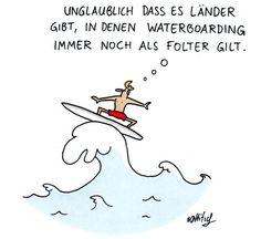 Cartoon von Oliver Ottitsch auf Spiegel Online