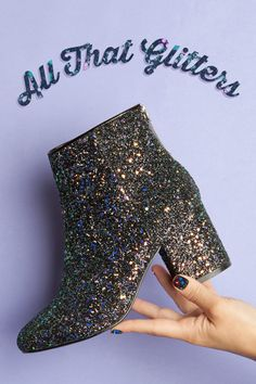 One for the magpies. Get some bling for your feet! Shoe Shop, Kid Shoes, Halloween Fun, Fancy Dress, Ankle Boots, Footwear, Bling, Man Shop, Celebrities