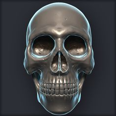 Skull 3D model on Turbosquid