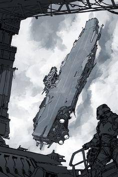 Random Futuristic, David Sequeira on ArtStation at https://www.artstation.com/artwork/znYxL