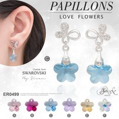 Papillons Love Flowers