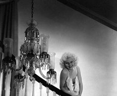 Jean Harlow by George Hurrell, 1934.