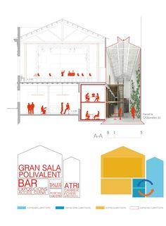 H Arquitectes > 1r Premio Concurso La Lleialtat Santsenca