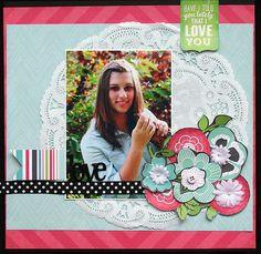 Step by Step Layout Tutorial by Elizabeth Hellum