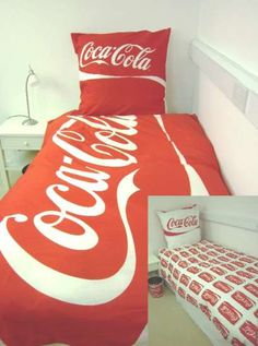 Coca Cola Bedding!