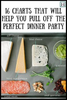 These charts are very helpful for your next adult dinner party or girls night.