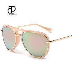 FEIDU 2016 Classic Sunglasses Women Oversized Coating Mirror Driving Sun Glasses For Women UV400 Gafas Oculos De Sol Feminino