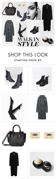 """Walk in style"" by smithsinspiration ❤ liked on Polyvore featuring Gucci, Guidi, Simply Vera, Kendall + Kylie, Kate Spade, Rick Owens, River Island and chelseaboots"