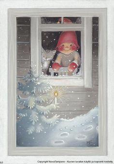 Secret Christmas Card RR from