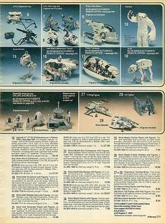 Star Wars Empire Strikes Back 1982-xx-xx JCPenney Christmas Catalog P513