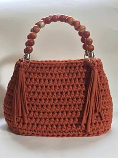 Crochet Purses And Bags Free Crochet Bag, Crochet Purse Patterns, Love Crochet, Crochet Yarn, Crochet Stitches, Bag Patterns, Crochet Handbags, Crochet Purses, Knitted Bags