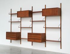 Cadovius Poul modular Wall Unit for Royal System | http://www.furniture-love.com/browse.php | From selection of important 20th century modern furniture.