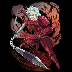 Seven Deadly Sins Anime, 7 Deadly Sins, Ban Anime, Manga, Seven Deady Sins, 7 Sins, Shared Folder, Hot Anime Boy, The Dark World