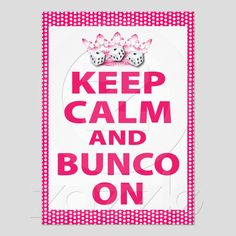 Fun Bunco Invite For A Fun Bunco Theme