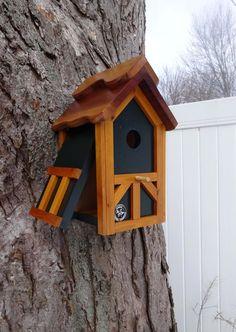 Tudor birdhouse Nesting Box Old English bird house