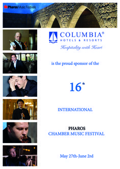 Once again, Columbia is sponsoring this year's International Pharos Chamber Music Festival. World-renowned musicians will bring some of the most beloved classical pieces of music to life in the atmospheric setting of the Royal Manor House in Kouklia. Get the details here! http://www.columbiabeach.com/en-gb/blog-article/238/489 #MusicalMondays #ColumbiaArts #ClassicalMusic #Concert #Cyprus #Holiday #HospitalitywithHeart