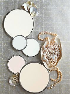Shell White Color Scheme Idea