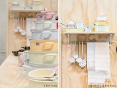 Riess design, #pastels, #kitchenware, #Showup Amsterdam