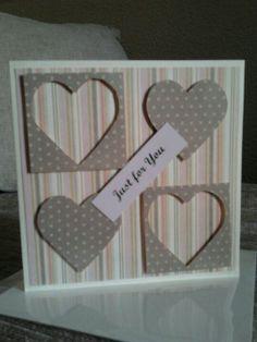 Homemade Card simple anniversary