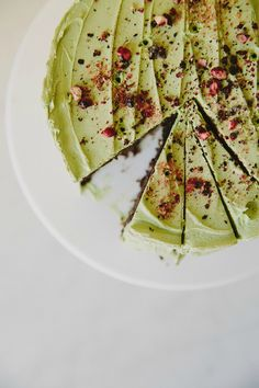 Flourless Chocolate Cake with Matcha Icing | My Darling lemon Thyme