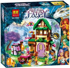 Elves Hotel Starlight  348pcs fit lego Friends Castle Elves girl  #10502 no box #Unbranded