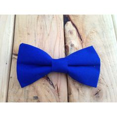 Royal blue bow tie, Black Bow Tie, Black Tie Bow Tie, Blue Necktie,... ($15) ❤ liked on Polyvore