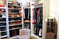 TiffanyD: Updated Closet and Makeup/Filming Area Tour! Ikea Pax closet system