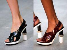 Calvin Klein - SHOES RUNWAY @ NEW YORK FASHION WEEK SPRING SUMMER 2014 – PART