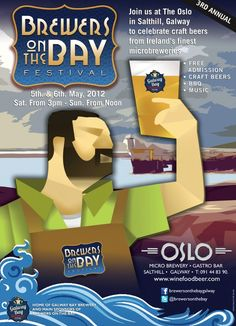 Brewers On The Bay Festival May 5th to May7th in the Oslo Salthill Galway