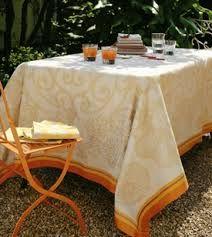 Luxury table linen.
