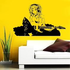 Anime Wall Decal Vinyl Sticker decor Girl with by StickerLuck, $29.99