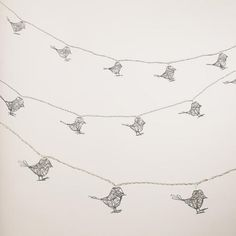 One of my favorite discoveries at WorldMarket.com: Wire Bird 10-Bulb String Lights - these are adorable!