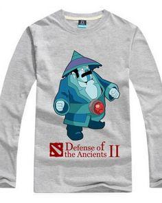 Dota 2 herói espírito da tempestade camisa de manga comprida t para homens-