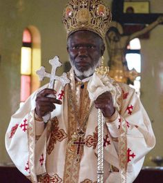 Metropolitan Jonah Lwanga presides over the Divine Liturgy at St. Nicholas Greek Orthodox Church in Uganda