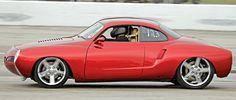 Karmann Ghia Hot Rod Vermelho