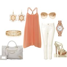 """""""Summer Luncheon"""" by adagrace on Polyvore"""