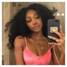 Black Girl Magic, Black Girls, Sza Singer, Mazzy Star, Beautiful Black Girl, Black Girl Aesthetic, Dream Hair, Selfie, Celebs