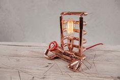 Lampe de Table en cuivre de TENDO par Zapalgo sur Etsy