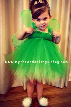 Tinkerbell Grow-with-Me, 3 Piece Tutu Costume