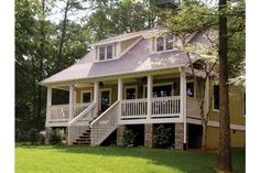 Home Plan HOMEPW18824 - 1451 Square Foot, 3 Bedroom 2 Bathroom + Dutch Colonial Home with 0 Garage Bays | Homeplans.com