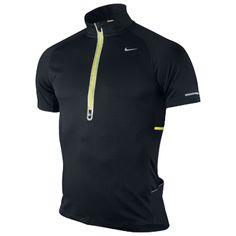 Nike Herre Denier 1/2 Zip T-shirt   Large   Løbeshop.dk (299 kr.)