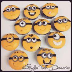 Cupcake minios!