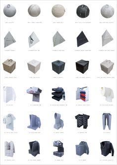 アンリアレイジの○△□と凹凸 Geometric Fashion, Monochrome Fashion, Fashion Vocabulary, Fashion Details, Fashion Design, Pattern Cutting, Margiela, Types Of Dresses, Fabric Manipulation