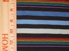 Baby Blue Rainbow Stripes