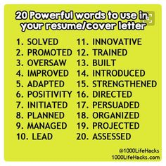 Words To Use On Resume 10 Things Interviewers Really Want To Know When They Ask These Questions