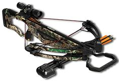 Barnett Outdoors Raptor FX Crossbow Package, Camo  Draw weight: 150-165lbsSpeed of 330 FPSAllows for integration of a crank cocking device  http://outdoorgear.mobi/product/barnett-outdoors-raptor-fx-crossbow-package-camo/