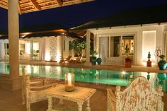 Impressive beachfront villa on Koh Samui island