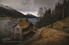 Old House By The Lake by Martynas