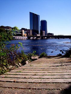 I used to live here in another life.  Downtown Grand Rapids - Michigan