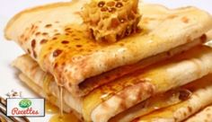Pancakes with honey recipe easy way Cyril Lignac Nutella, Crepes Party, Honey Recipes, C'est Bon, Crockpot, Pancakes, Easy Meals, Sweets, Healthy